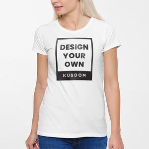 女裝棉質圓領T恤