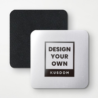 Square Aluminium Coasters(4Pcs)