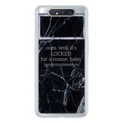 Samsung Galaxy A80 Transparent Slim Case