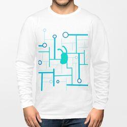 future( •̀ ω •́ )✧男裝棉質圓領長袖T恤