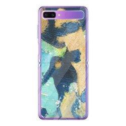 抽象艺术Samsung Galaxy Z Flip 透明超薄壳(亚克力硬款)