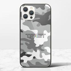壹定有你(迷彩黑) - iPhone 12 Pro 鋼化玻璃殼