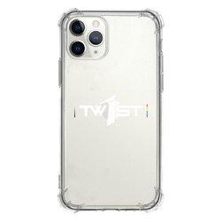 翻轉彩虹(白)-iPhone 11 Pro 透明防撞殼