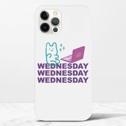 Wednesday BeariPhone 12 Max Pro 光面硬身殼