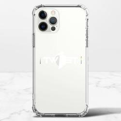 翻轉彩虹(白)-iPhone 12 Pro 透明防撞殼(TPU軟款)