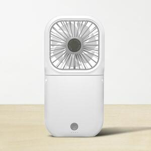 Lanyard Foldable Fan with Power Bank