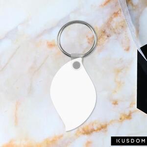 Leaf Shaped Keychain