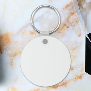 Round Shaped Keychain