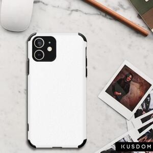 iPhone 12 Soft Rubber Leather Texture Phone Case