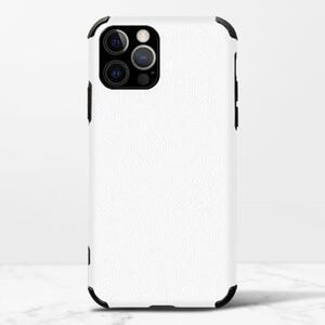 iPhone 12 Pro Max 皮紋矽膠殼