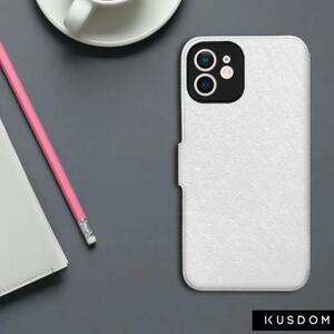 iPhone 12 皮纹翻盖壳