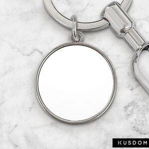 磁吸圓形鑰匙圈