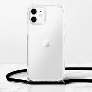 iPhone 12 mini Clear TPU Soft Case with Lanyard