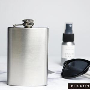 Japanese style Stainless Steel Hip Flask, 4oz