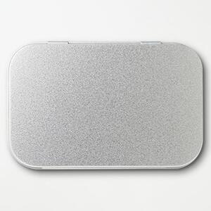 Metal Hinge Top Tin(Medium)