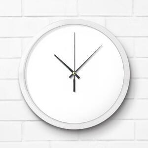 圆形金属挂墙钟