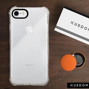 iPhone 8 Clear Bumper Case(Black aperture )