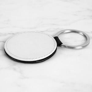 圓皮鑰匙圈