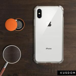 iPhone X Transparent Bumper Case(Fully transparent)