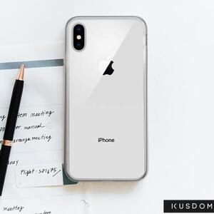 iPhone Xs 透明殼