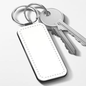 长方形皮匙扣