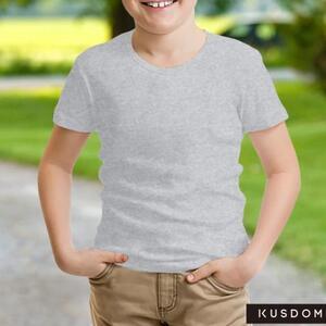 男童棉质圆领T恤