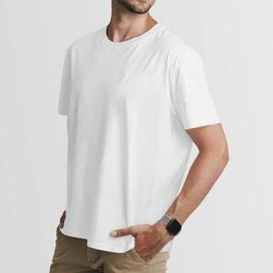 男裝棉質圓領T恤