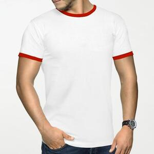 Men's Basic Ringer T-Shirt