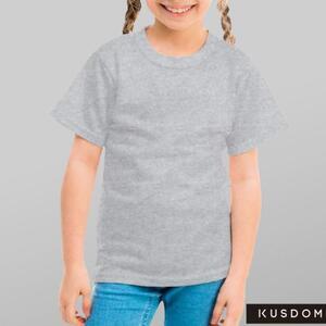 女童棉质圆领T恤