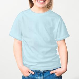 女童棉質圓領T恤