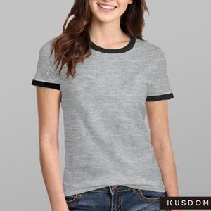 Women''s Basic Ringer T-Shirt