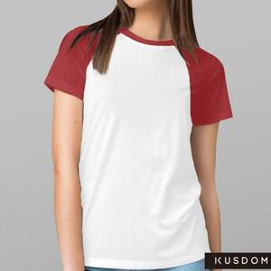 女装棉质插肩圆领T恤