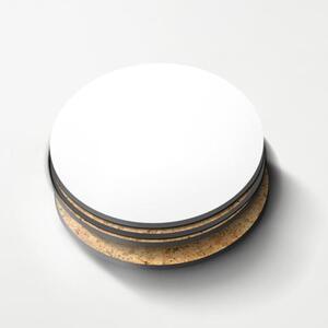 圆形水松木杯垫 (4件装)