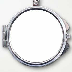 圆形匙扣镜盒