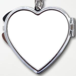 心形匙扣鏡盒