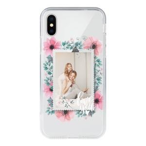 DIY Photos iPhone X Clear Case