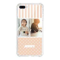 Personalized iPhone 8 Plus Clear Bumper Case
