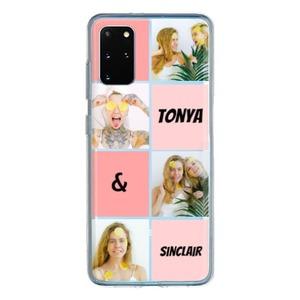 Samsung Galaxy S20 + Clear Case (아크릴 하드 케이스)