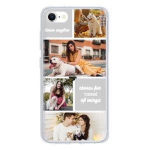 iPhone SE Clear Case(2020 TPU soft case)