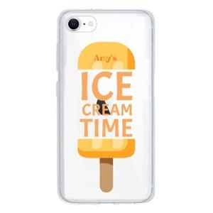 Add Text iPhone SE Clear Case(2020 TPU soft case)
