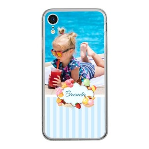 Personalized Photo iPhone Xr Clear Case