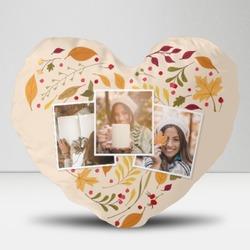 """Heart-shaped Throw Pillow 20"""" x 18"""""""
