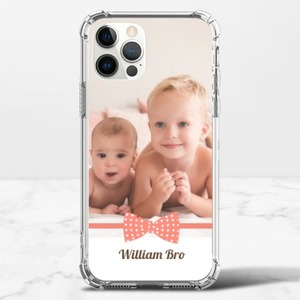 iPhone 12 Pro Clear Bumper Case(TPU soft case)