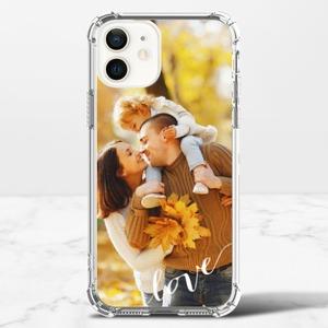 iPhone 12 mini 투명 범퍼 케이스 (TPU 소프트)