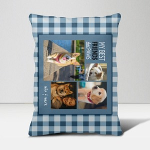 Custom Photo Accent Pillow 16'' x 24''