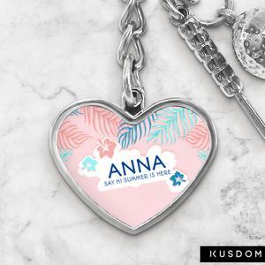 Golf Keychain - Heart