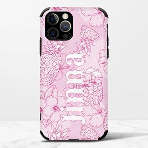 客製名字iPhone 12 Pro Max 皮紋矽膠殼