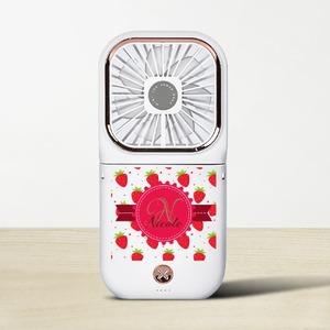 Foldable Fan with Power Bank & Phone Holder