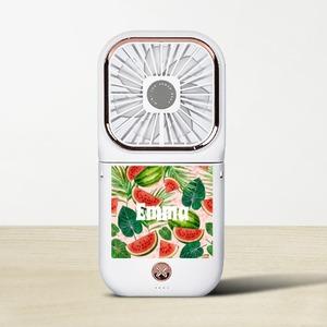 名前を追加Foldable Fan with Power Bank & Phone Holder