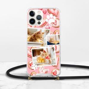 寵物相片iPhone 12 Pro Max 掛繩透明硬殼